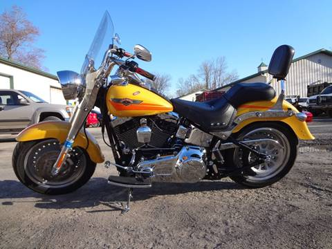 2007 Harley-Davidson FAT BOY FLSTF for sale in Voorheesville, NY