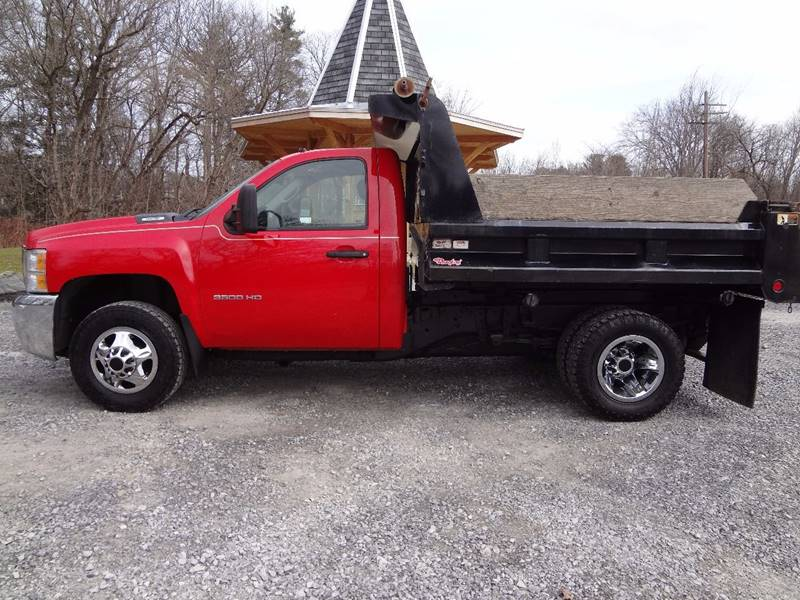 2010 Chevrolet Silverado 3500HD for sale at Celtic Cycles in Voorheesville NY