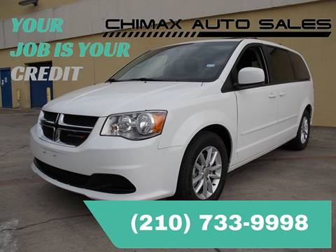 2014 Dodge Grand Caravan for sale at Chimax Auto Sales in San Antonio TX