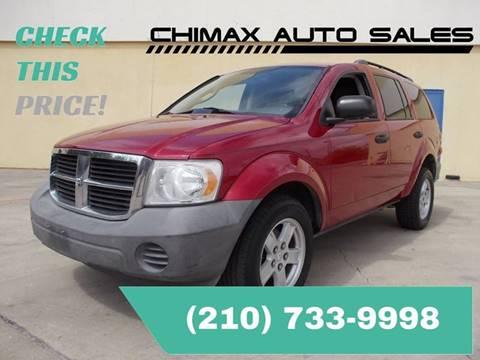 2007 Dodge Durango for sale at Chimax Auto Sales in San Antonio TX