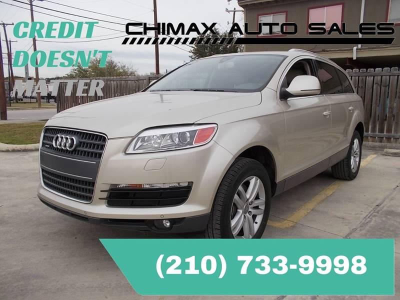Audi Q Premium Quattro In San Antonio TX Chimax Auto Sales - Audi q7 for sale