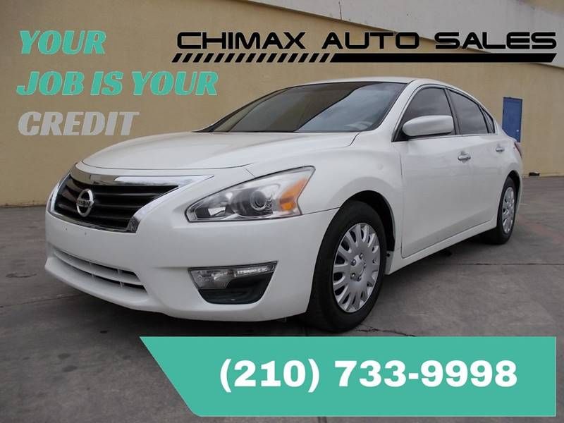 2013 nissan altima 2.5 s in san antonio tx - chimax auto sales