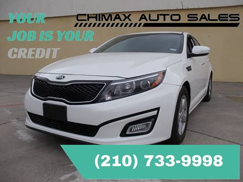 2015 Kia Optima for sale at Chimax Auto Sales in San Antonio TX
