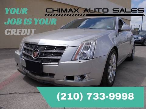 2008 Cadillac CTS for sale at Chimax Auto Sales in San Antonio TX