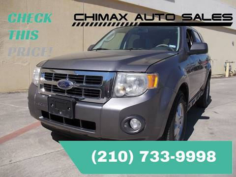 2009 Ford Escape for sale at Chimax Auto Sales in San Antonio TX