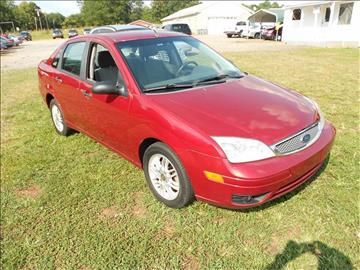 2005 Ford Focus for sale at Good Guys Cars in Statesville NC