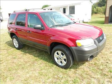 2006 Ford Escape for sale at Good Guys Cars in Statesville NC