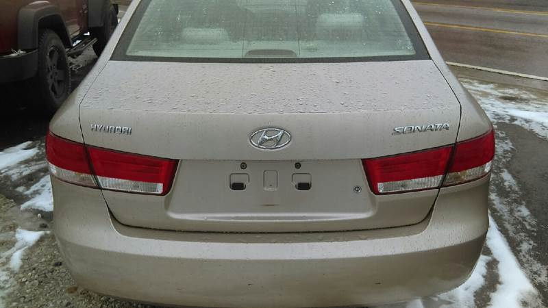 2007 Hyundai Sonata GLS 4dr Sedan - Weirton WV