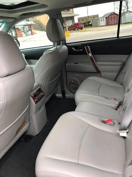 2012 Toyota Highlander AWD Limited 4dr SUV - Weirton WV