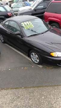 1997 Hyundai Tiburon for sale in Vancouver, WA