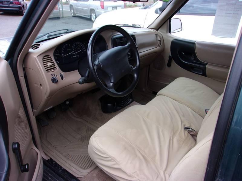 1997 ford ranger motor size