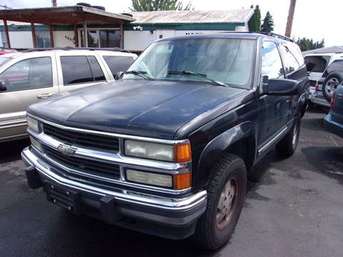 1994 Chevrolet Blazer for sale in Vancouver, WA