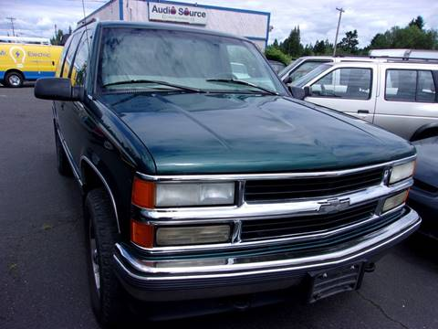 1997 Chevrolet Tahoe for sale in Vancouver, WA