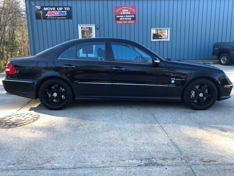 2005 Mercedes-Benz E-Class E 55 AMG for sale at Upton Truck and Auto in Upton MA