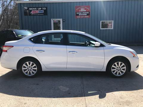 2014 Nissan Sentra SV for sale at Upton Truck and Auto in Upton MA