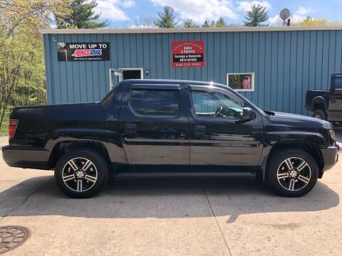 2013 Honda Ridgeline Sport for sale at Upton Truck and Auto in Upton MA