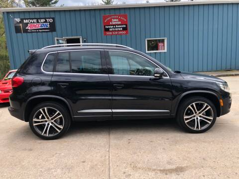 2014 Volkswagen Tiguan R-Line 4Motion for sale at Upton Truck and Auto in Upton MA