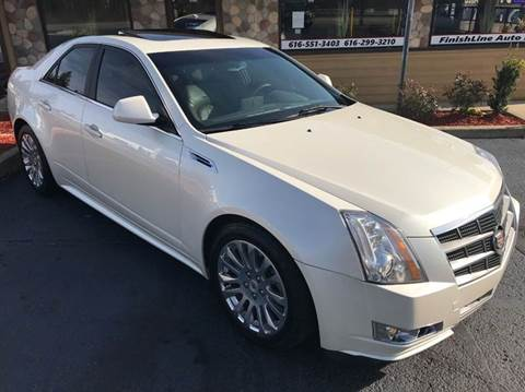2010 Cadillac CTS for sale at Finish Line Auto in Comstock Park MI