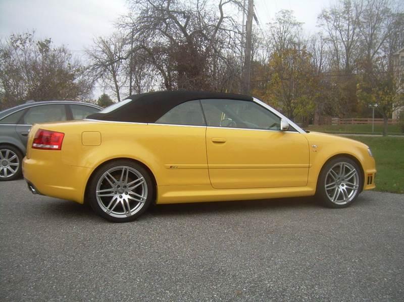 2008 Audi RS 4 for sale at AUTOHAUS in South Burlington VT