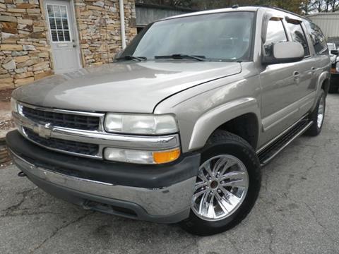 2002 Chevrolet Suburban for sale in Norcross, GA