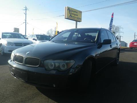 2005 BMW 7 Series for sale in Norcross, GA