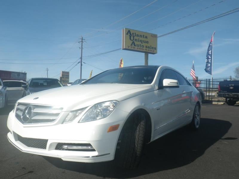 Mercedes-Benz Used Cars For Sale Norcross Atlanta Unique Auto Sales