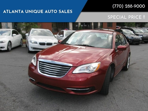 2013 Chrysler 200 for sale in Norcorss, GA
