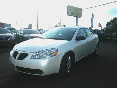 2009 Pontiac G6 for sale in Norcorss, GA
