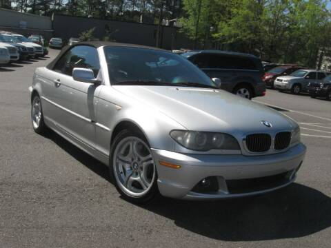 2004 BMW 3 Series for sale at Atlanta Unique Auto Sales in Norcross GA
