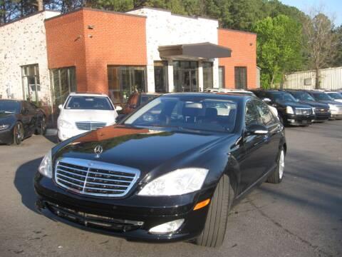 2009 Mercedes-Benz S-Class for sale at Atlanta Unique Auto Sales in Norcross GA