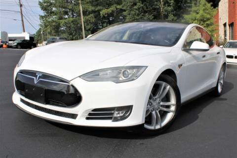 2013 Tesla Model S for sale at Atlanta Unique Auto Sales in Norcross GA