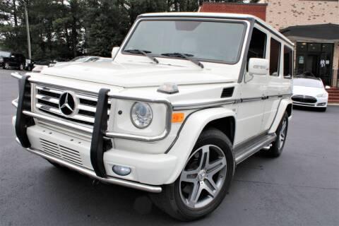 2011 Mercedes-Benz G-Class for sale at Atlanta Unique Auto Sales in Norcross GA