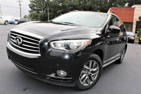 2013 Infiniti JX35 for sale at Atlanta Unique Auto Sales in Norcross GA