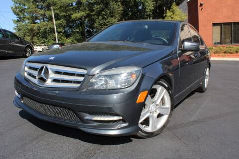 2011 Mercedes-Benz C-Class for sale at Atlanta Unique Auto Sales in Norcross GA