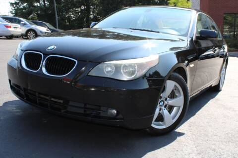 2005 BMW 5 Series for sale at Atlanta Unique Auto Sales in Norcross GA