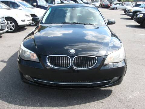 2009 BMW 5 Series for sale at Atlanta Unique Auto Sales in Norcross GA