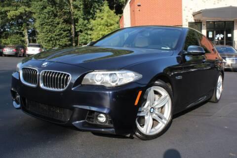 2014 BMW 5 Series for sale at Atlanta Unique Auto Sales in Norcross GA