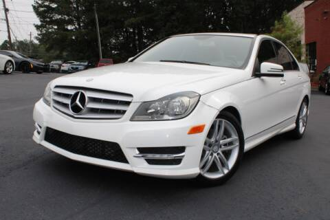 2013 Mercedes-Benz C-Class for sale at Atlanta Unique Auto Sales in Norcross GA