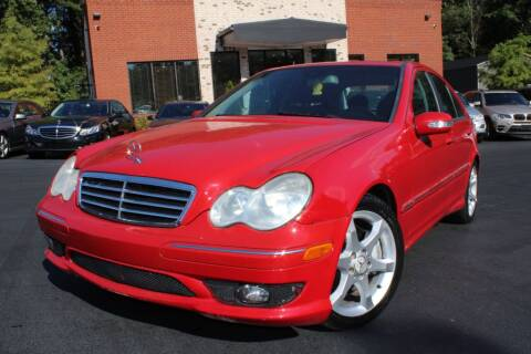 2007 Mercedes-Benz C-Class for sale at Atlanta Unique Auto Sales in Norcross GA