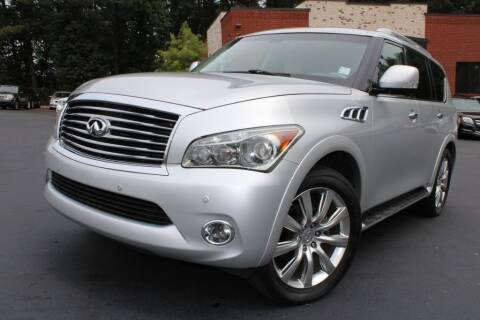 2013 Infiniti QX56 for sale at Atlanta Unique Auto Sales in Norcross GA
