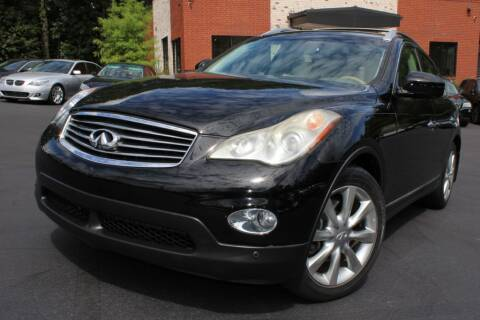 2012 Infiniti EX35 for sale at Atlanta Unique Auto Sales in Norcross GA
