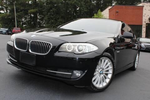 2013 BMW 5 Series for sale at Atlanta Unique Auto Sales in Norcross GA
