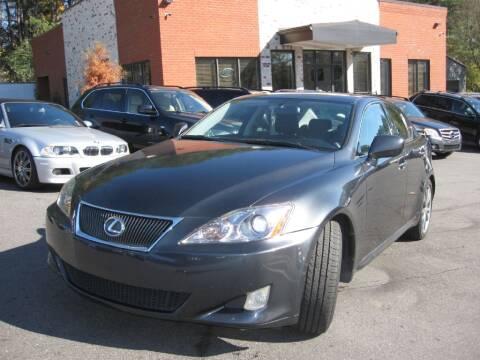 2008 Lexus IS 350 for sale at Atlanta Unique Auto Sales in Norcross GA