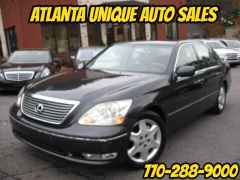 2005 Lexus LS 430 for sale at Atlanta Unique Auto Sales in Norcross GA