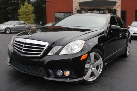 2010 Mercedes-Benz E-Class for sale at Atlanta Unique Auto Sales in Norcross GA