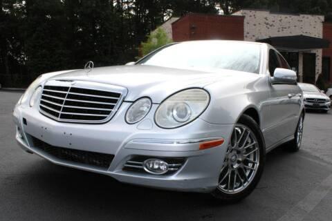 2008 Mercedes-Benz E-Class for sale at Atlanta Unique Auto Sales in Norcross GA