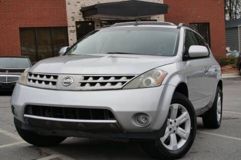 2006 Nissan Murano for sale at Atlanta Unique Auto Sales in Norcross GA