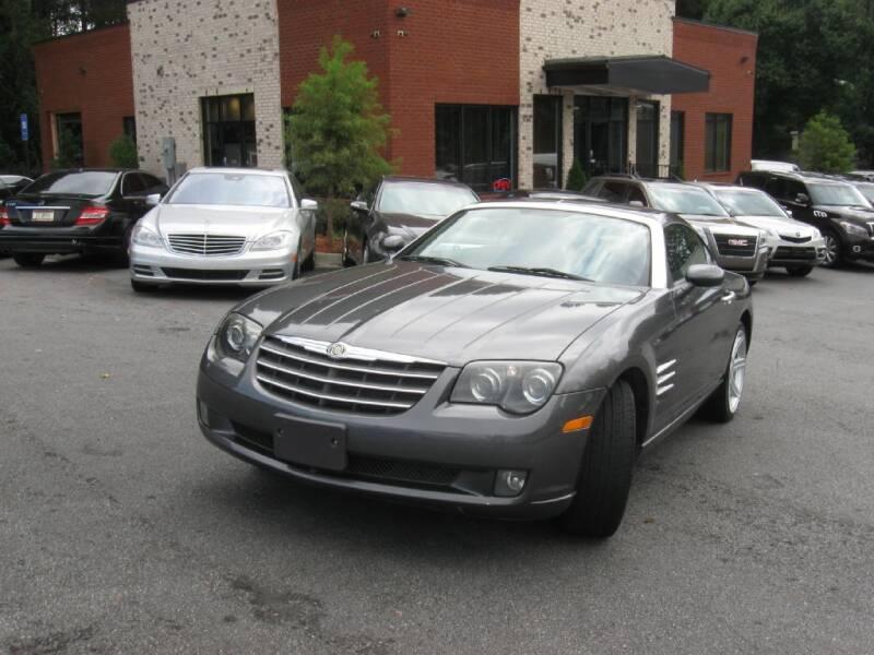 2004 Chrysler Crossfire for sale at Atlanta Unique Auto Sales in Norcross GA