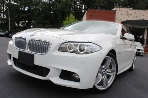 2011 BMW 5 Series for sale at Atlanta Unique Auto Sales in Norcross GA