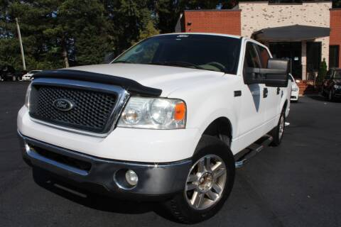 2007 Ford F-150 for sale at Atlanta Unique Auto Sales in Norcross GA